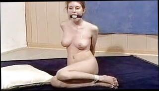 Naked girl bound